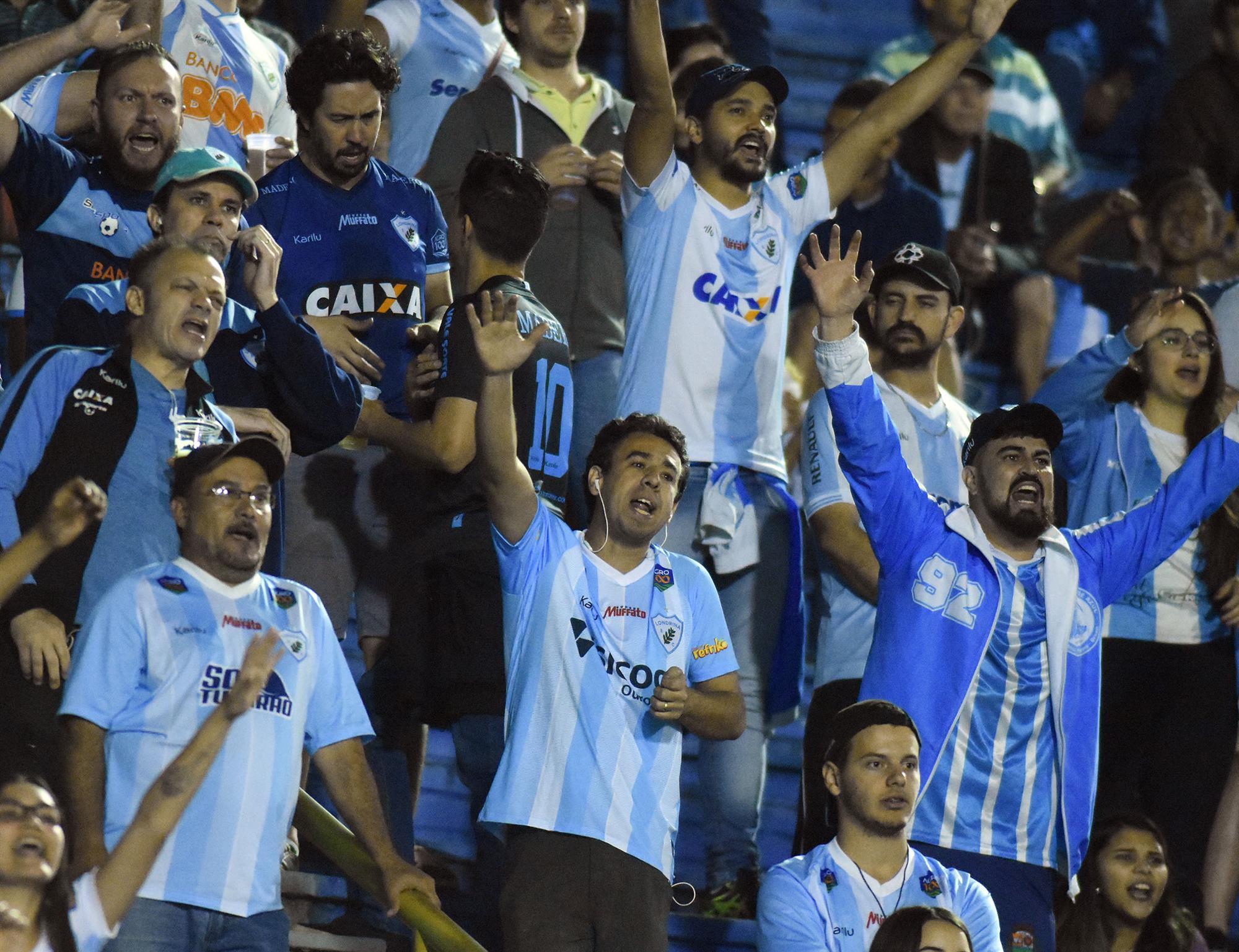 Londrina inicia vendas de ingressos para a estreia no Paranaense