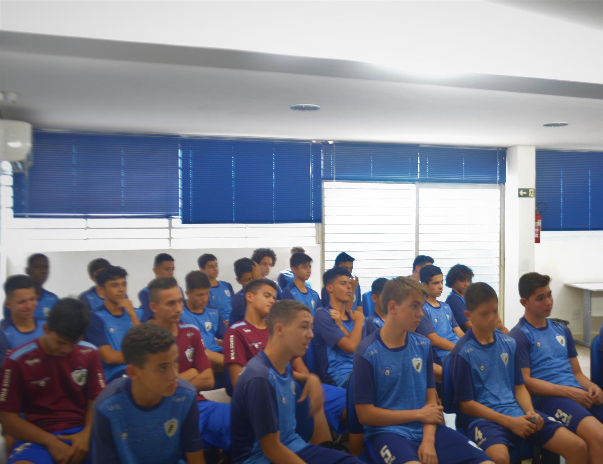 Equipe sub-15 já se reapresentou visando temporada 2020