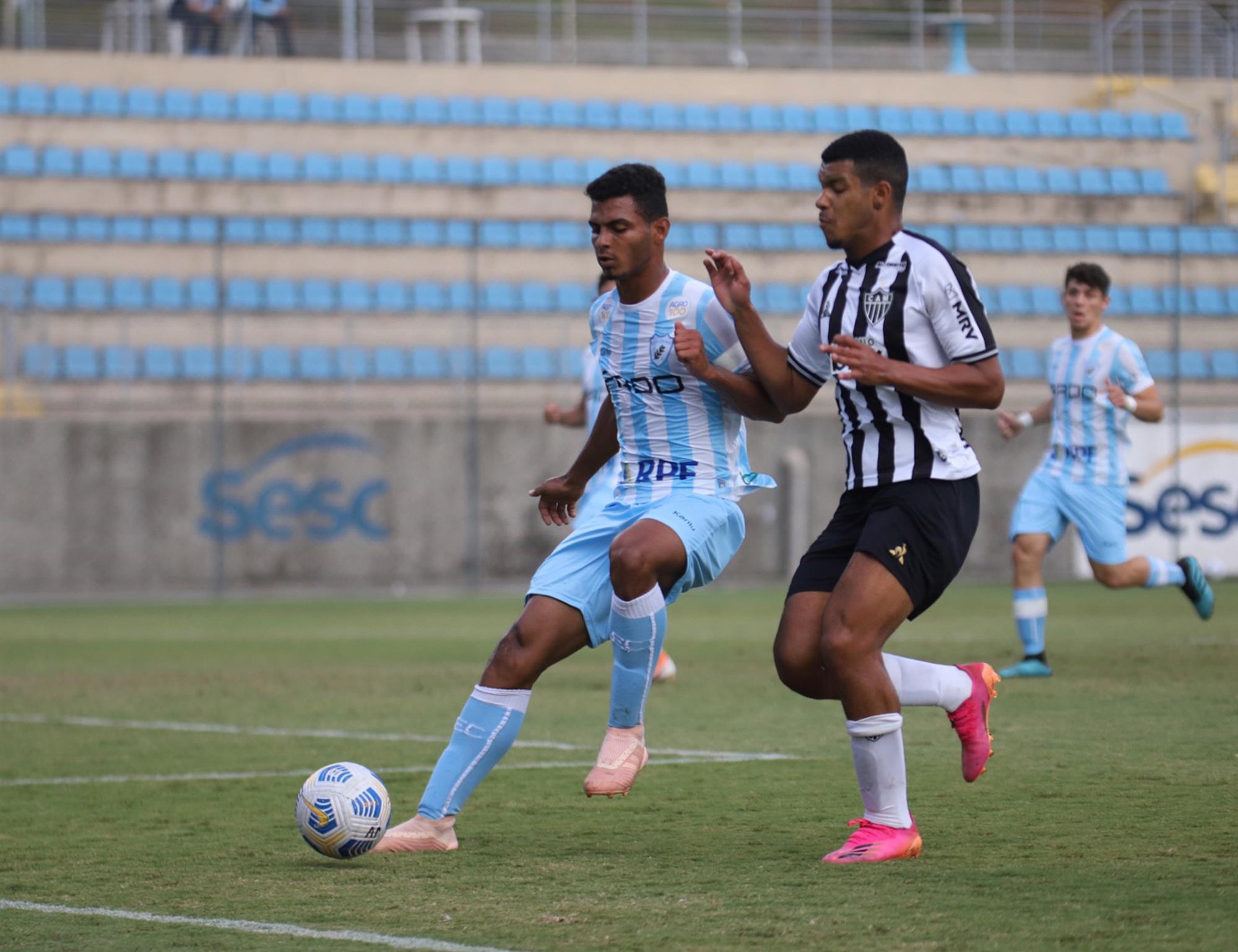 Tubarãozinho é superado pelo Atlético Mineiro na Copa do Brasil sub-17