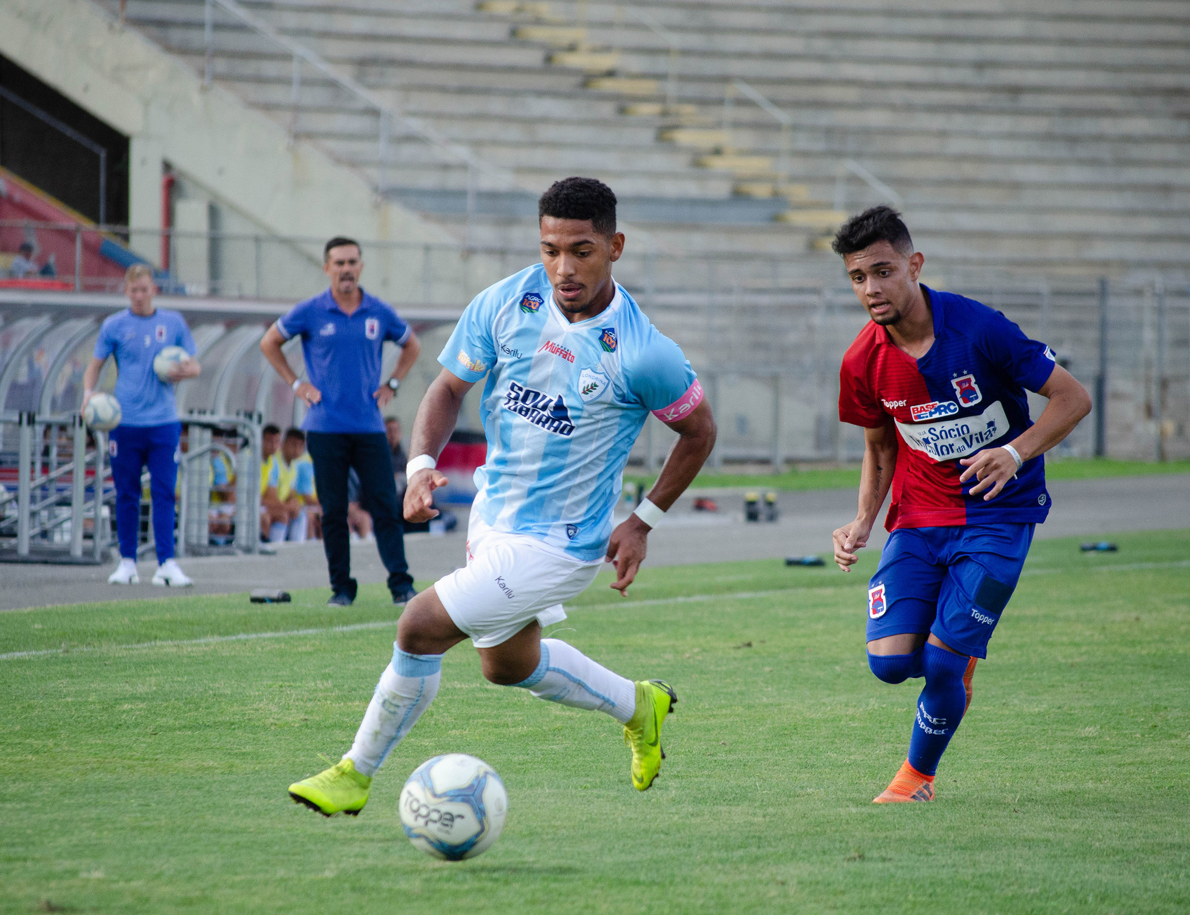 Por vaga na final, Londrina recebe o Paraná Clube