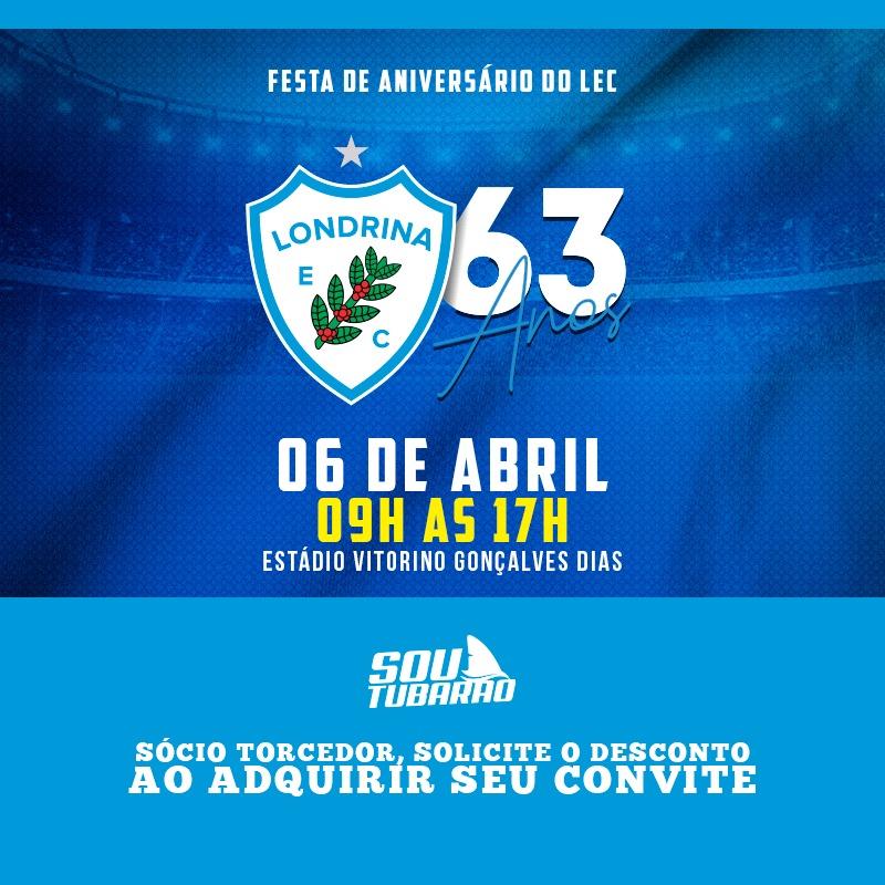 LEC comemorará os 63 com evento para o torcedor
